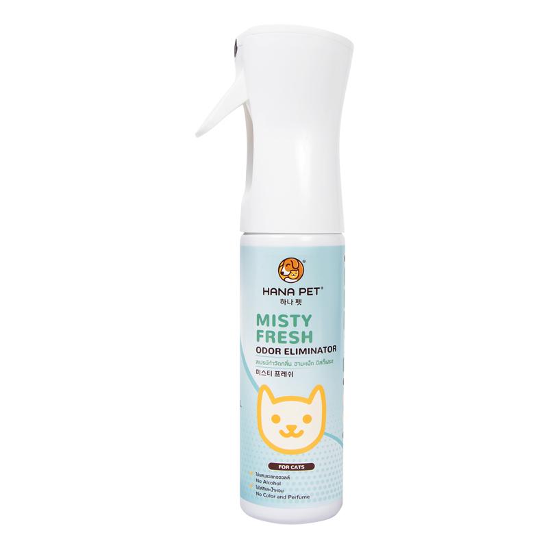 Xịt diệt khuẩn khử mùi đa năng cho mèo Misty Fresh Cat 300ml