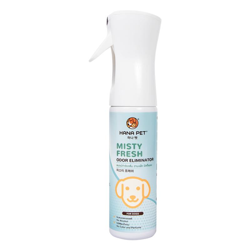 Xịt diệt khuẩn khử mùi đa năng cho chó Misty Fresh Dog 300ml