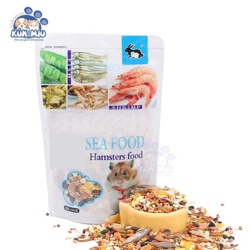 Ngũ cốc hải sản Thức ăn cho Hamster, Nhím, Sóc