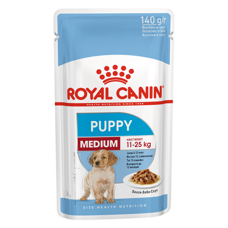 Pate cho chó Royal Canin Medium Puppy 140g