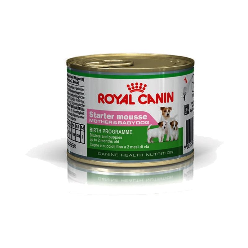 Pate cho chó Royal Canin Starter mousse 195g