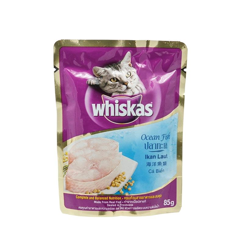 Thức ăn cho mèo Pate Whiskas 85gr