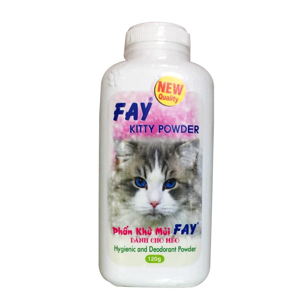Phấn khử mùi cho mèo Fay Kitty
