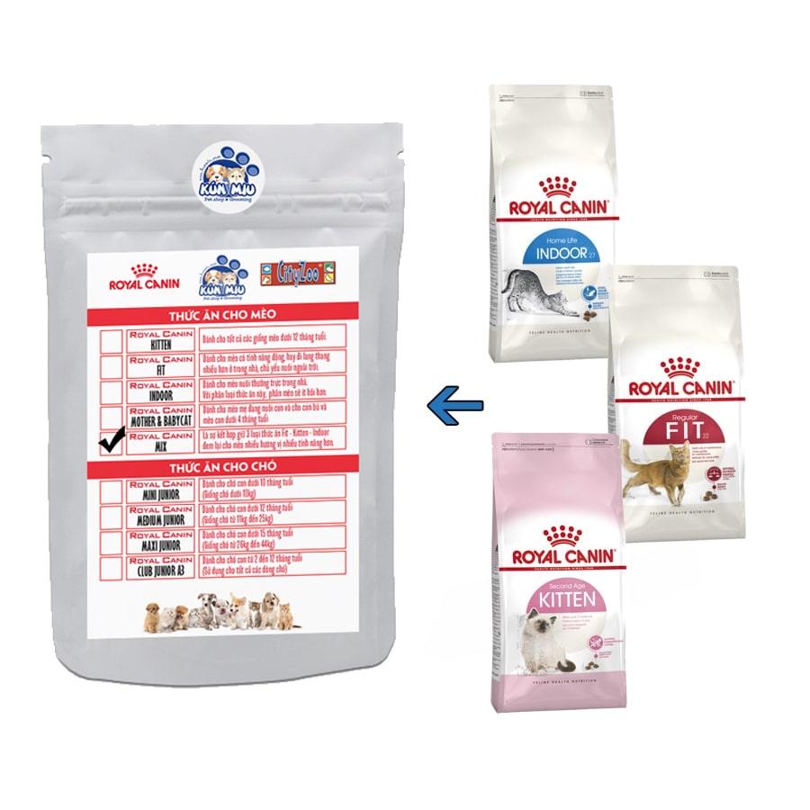 Thức ăn cho mèo Royal Canin Mix - 1 kg chia (RTB)
