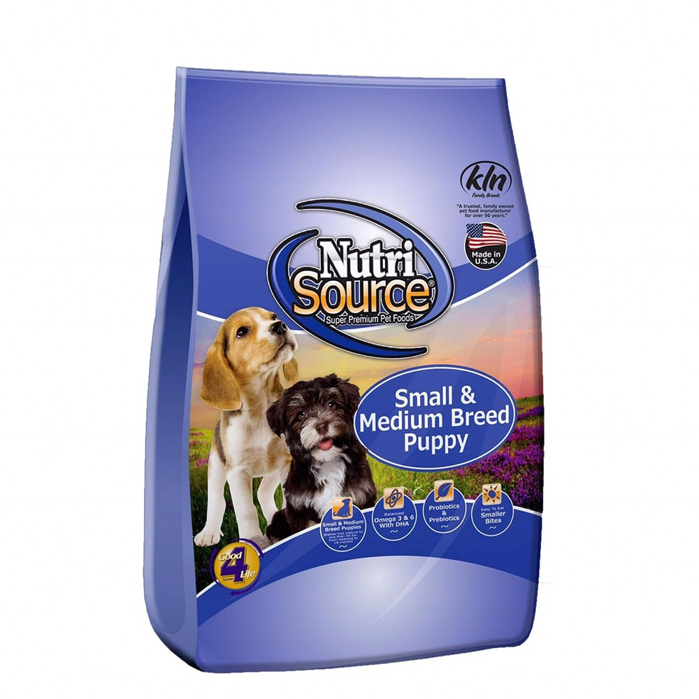 Thức ăn cho chó Nutri Source Small & Medium Breed Puppy