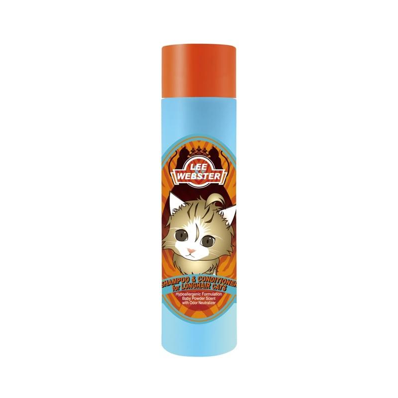 Sữa tắm cho mèo lông dài Lee Webster