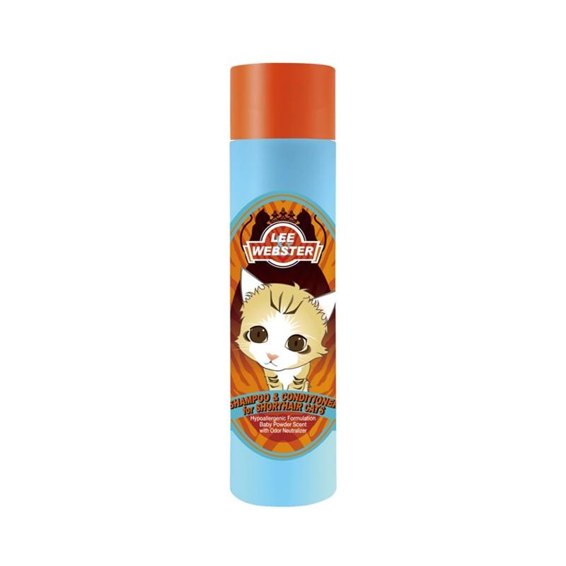 Sữa tắm cho mèo lông ngắn Lee Webster