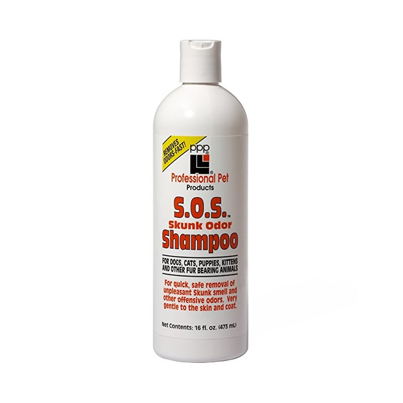 Sữa tắm chó mèo khử mùi PPP SOS 475ml