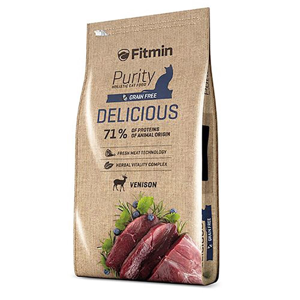 Thức ăn mèo lớn Fitmin Purity Delicious
