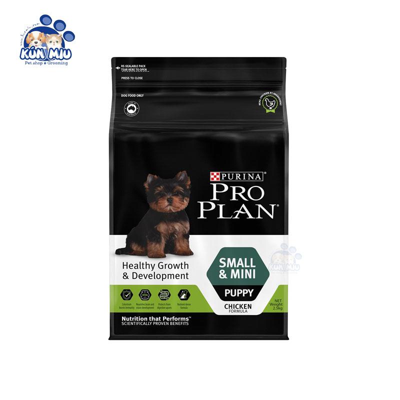 Thức ăn cho chó con Purina Proplan Small & Mini Puppy 2.5kg