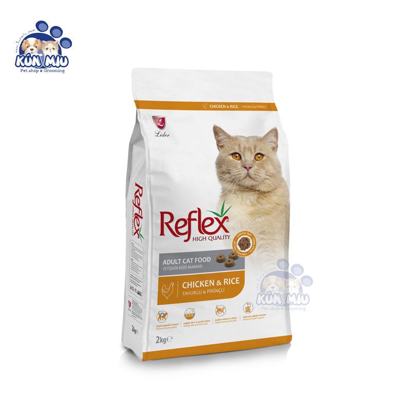 Thức ăn cho mèo trưởng thành REFLEX ADULT vị thịt gà