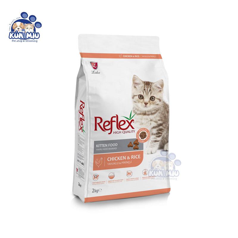 Thức ăn cho mèo con REFLEX KITTEN vị thịt gà