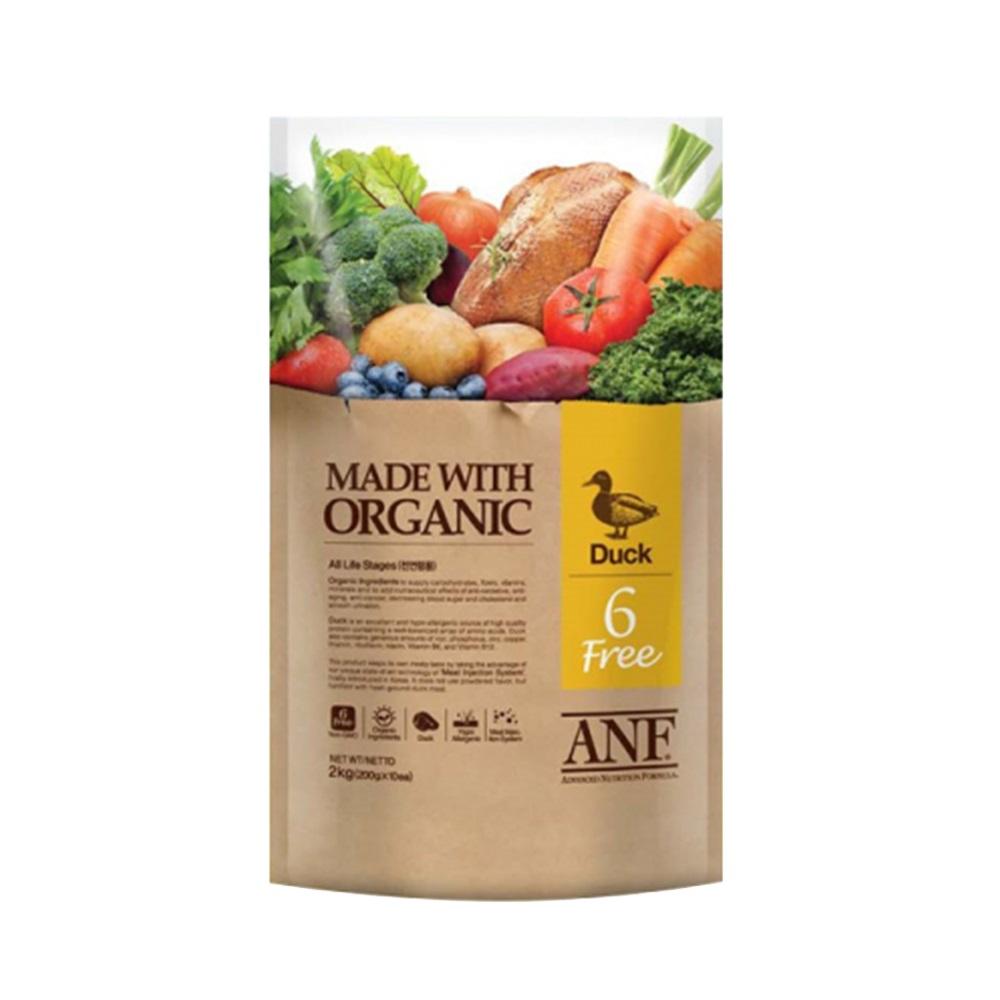 Thức ăn cho chó ANF 6 Free vị thịt vịt 1kg