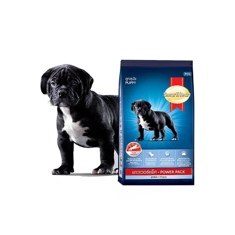 Thức ăn cho chó con Smartheart Power Pack