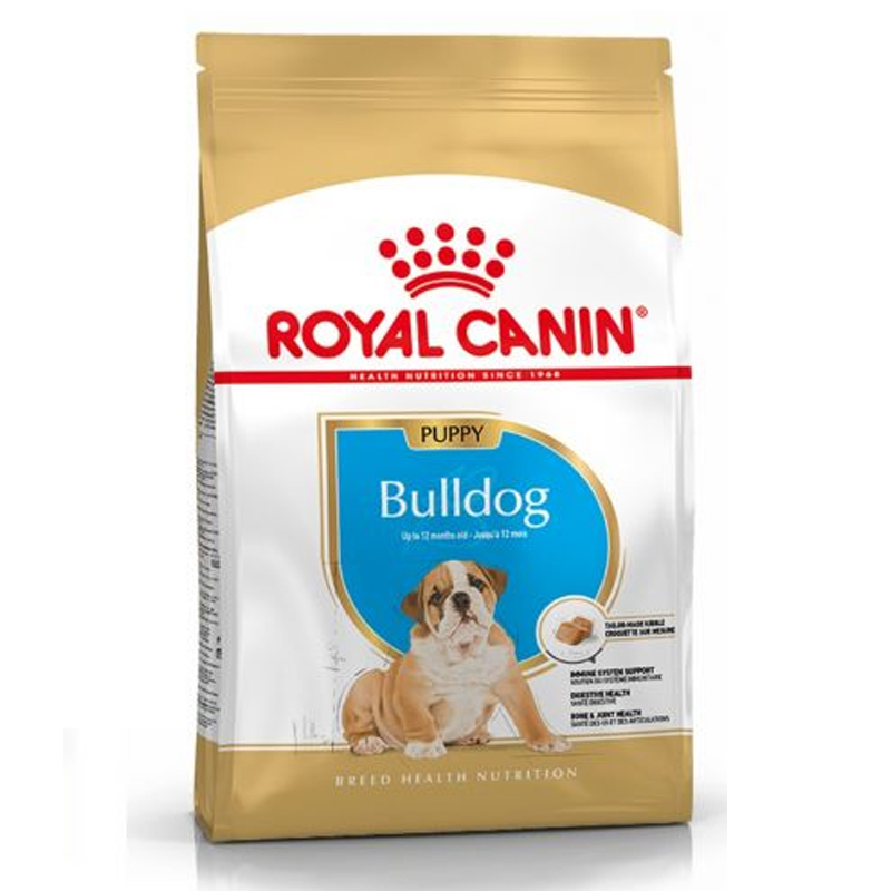 Thức ăn cho chó Royal Canin Bulldog Puppy 3kg
