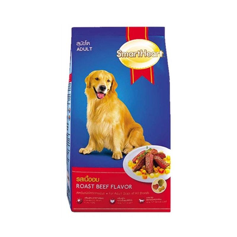 Thức ăn cho chó trưởng thành hơn 1 tuổi Smartheart Adult bao 20kg