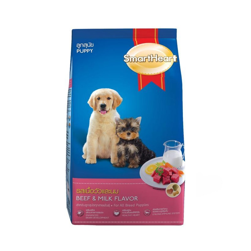 Thức ăn cho chó con Smartheart Puppy