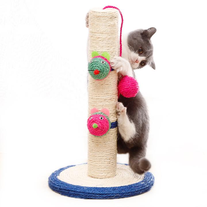 Trụ cào móng cho mèo đế tròn