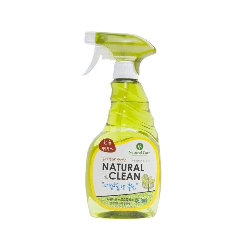 Xịt khử mùi diệt khuẩn Natural Clean