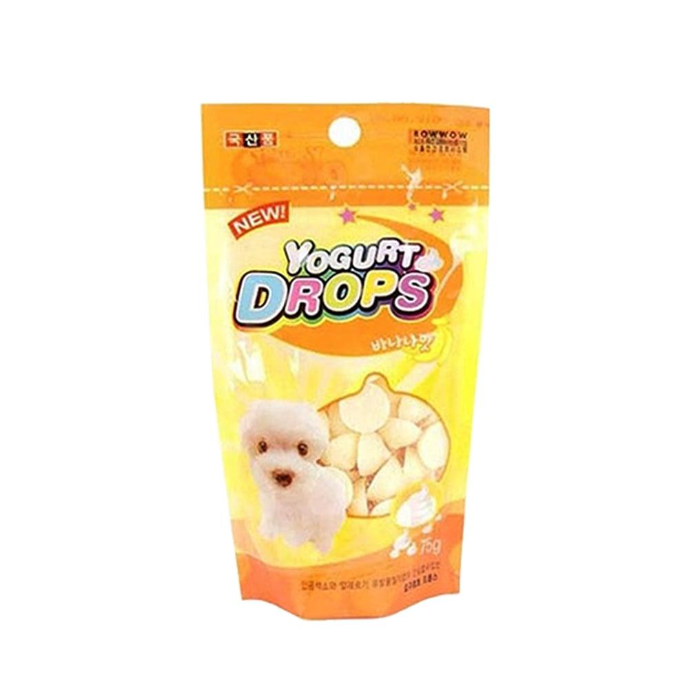 Bánh thưởng cho chó Yogurt drops (sữa chua)