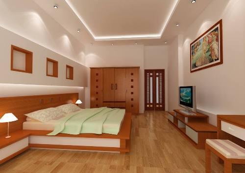 Sàn nhựa giả gỗ- Đầu tư thông minh cho một phòng ngủ sang trọng