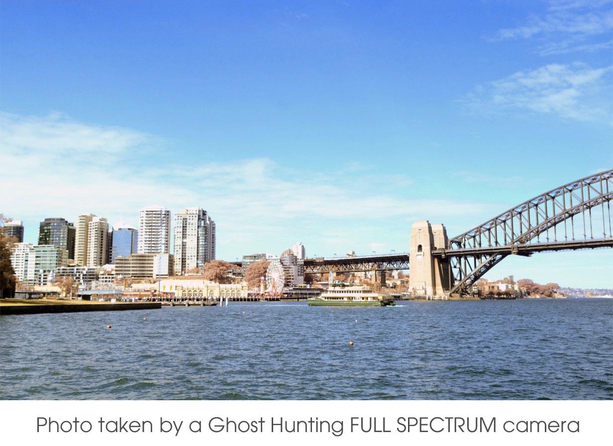 Ghost Hunting FULL SPECTRUM UV Astro NIR IR converted camera Nikon D70 DSLR