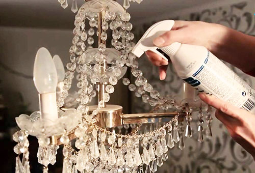 Kết quả hình ảnh cho cách vệ sinh đèn trang trí nội thất
