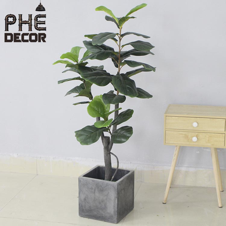 new-style-green-leaves-plastic-plants-artificial-3