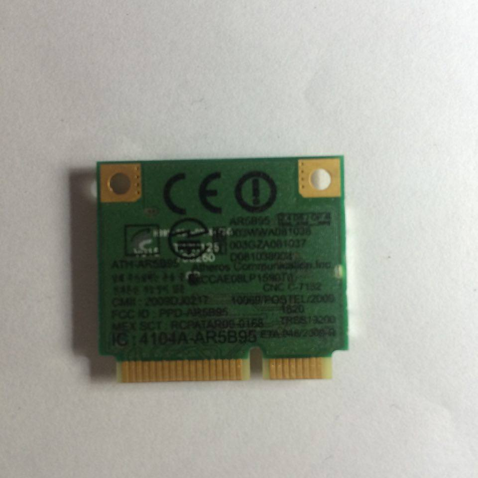 Thay wifi acer dell 411z - 5110 -5010-5520-4010-4110-5460-5470