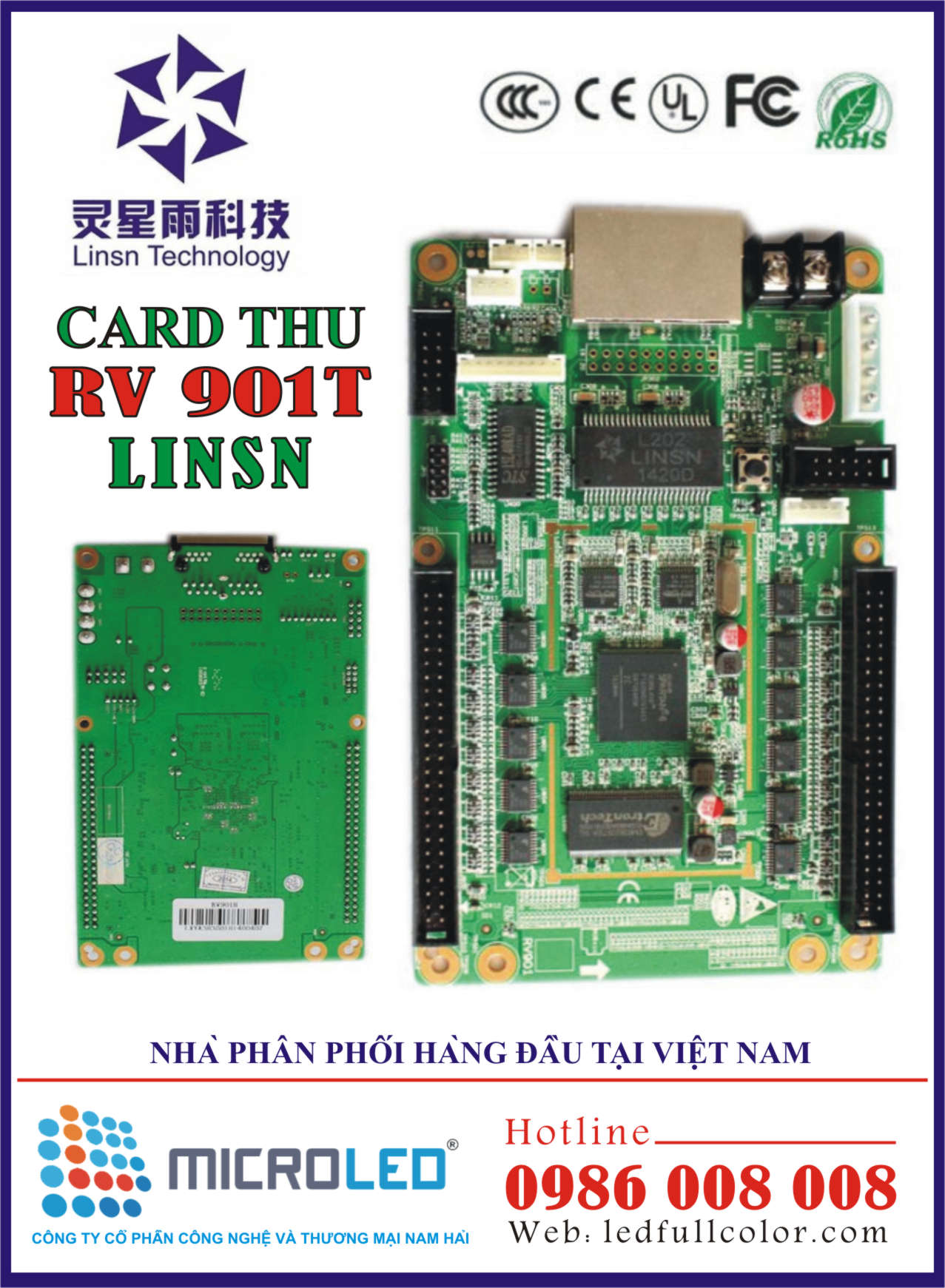 Card thu Linsn RV 901T