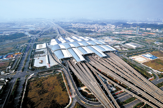 Guang zhou New Rail way Station