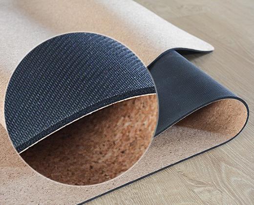 cấu tạo Thảm Tập Cork Yoga Mat 4 ly
