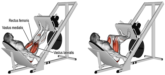 Incline Legpress