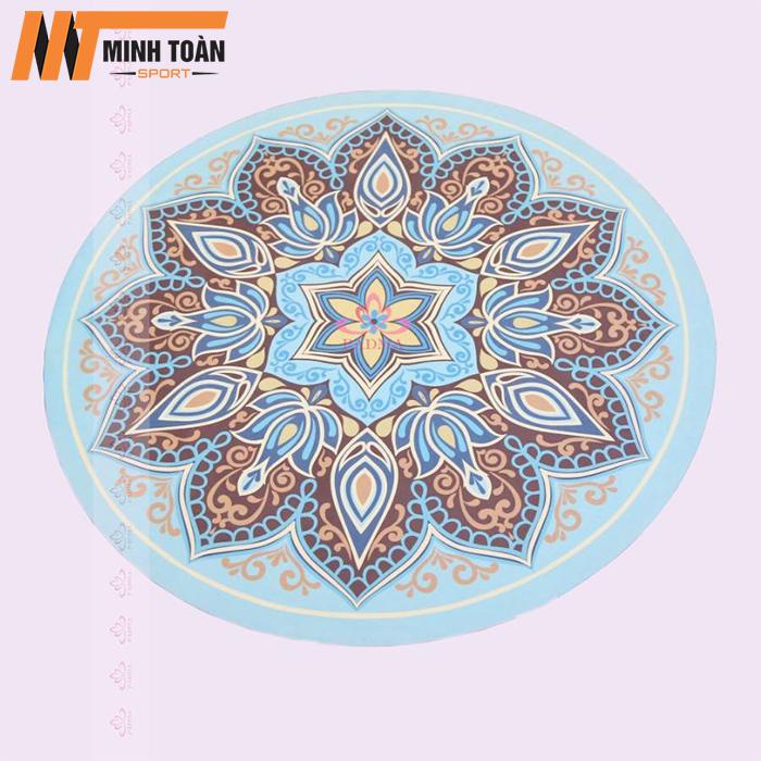 thảm yoga hình tròn