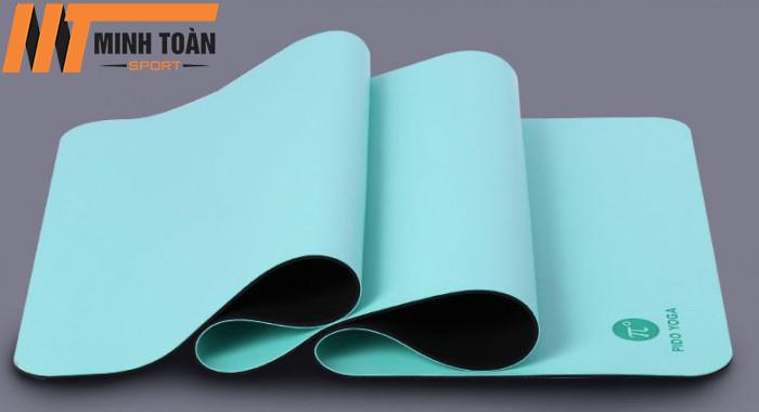 thảm yoga Pido màu xanh