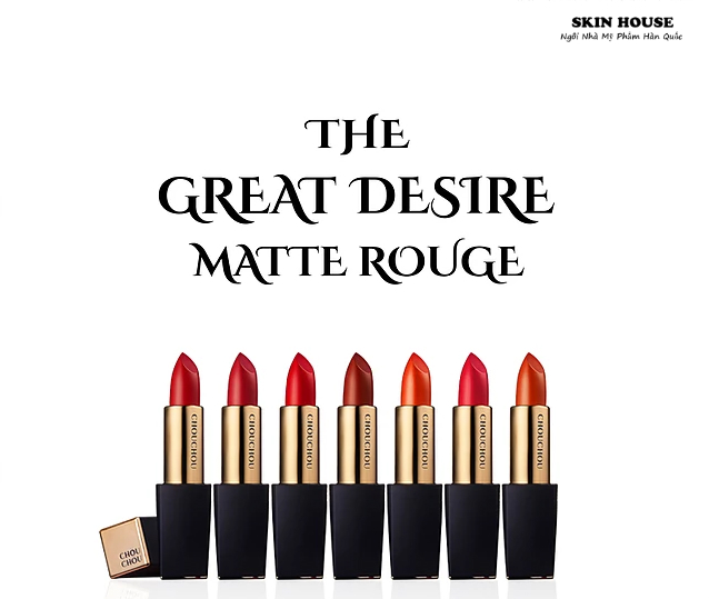 Son ChouChou The Great Desire Mattle Rouge ( #03 Candy Red )