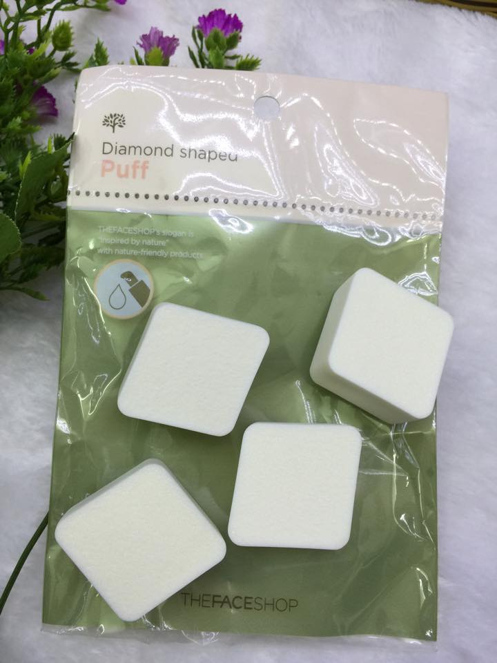 Bông Nền The Face Shop Dianond Shaped