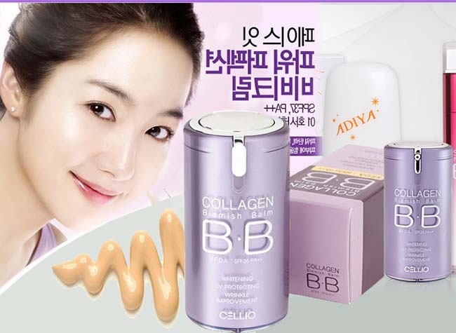 Kem Nền BB Cream Cellio Collagen Blemish Balm SPF40 40ml