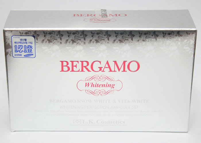 Serum Bergamo Snow White & Vita - White 13ml x 4 (Hộp)
