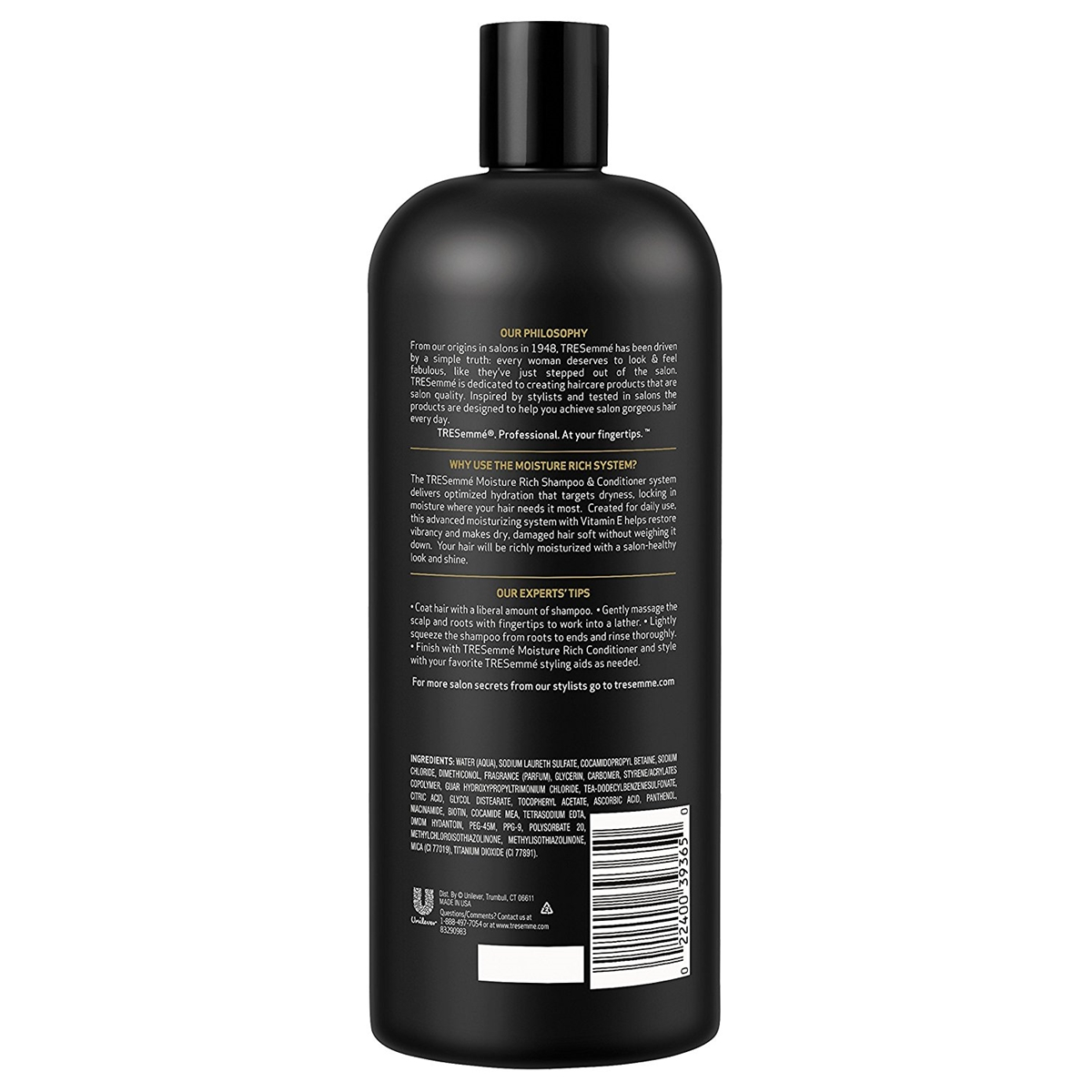 Dầu Gội Tresemme Advanced Technology Moisture Rich Shampoo 900ml