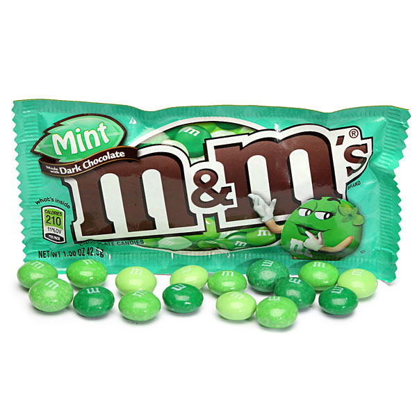 Socola M&M Mint Dark Chocolate 289.2g