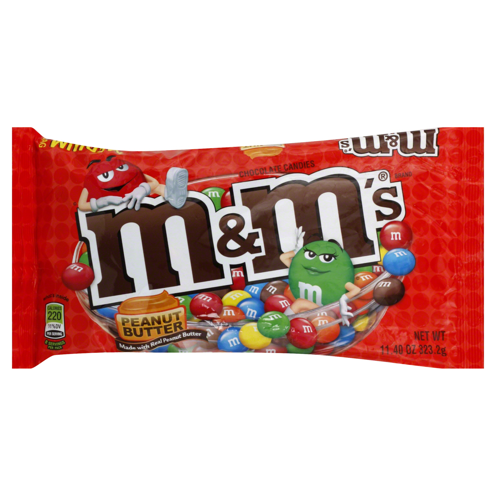 Socola M&M Peanut Milk Chocolate 323.2g