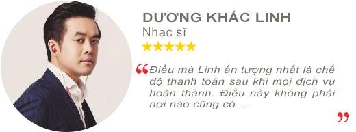 Review Nhạc sĩ Dương Khắc Linh