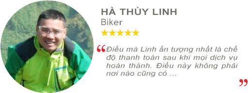 Review anh Hà Thùy Linh