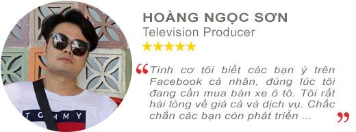 Review anh Hoàng Ngọc Sơn