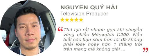 Review anh Nguyễn Quí Hải