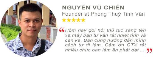 Review anh Nguyễn Vũ Chiến