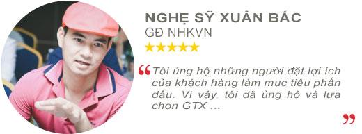 Review Nghệ sỹ Xuân Bắc