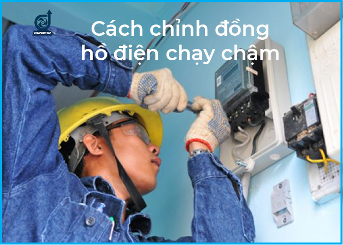 cach chinh dong ho dien chay cham