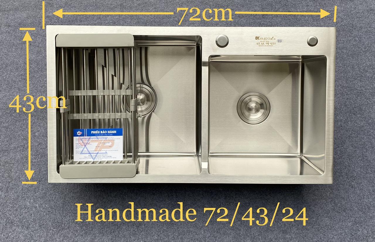 Giảm giá cực rẻ: tranh thủ sắm 5 mẫu chậu rửa inox đúc đang cực hot